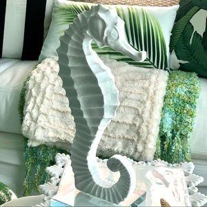 "Acrylic Base 12"" Tall Seahorse Shelf Sitter"